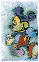Disney Mickey Mouse ''Skipping Out'' Giclée by Eric Robison
