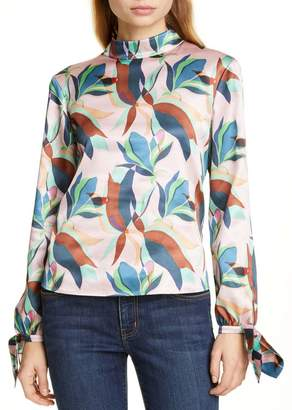 Ted Baker Corah Supernatural High Neck Blouse