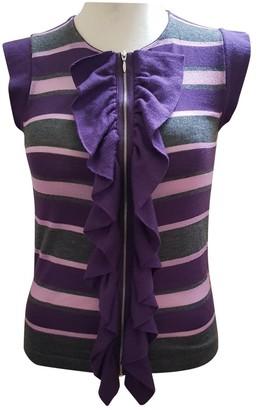 Marni Purple Cashmere Top for Women