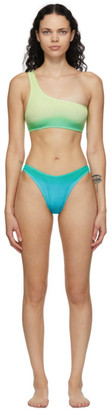 BOUND by Bond-Eye Green and Blue The Samira Bikini