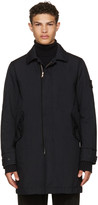Stone Island Navy Classic Long Coat