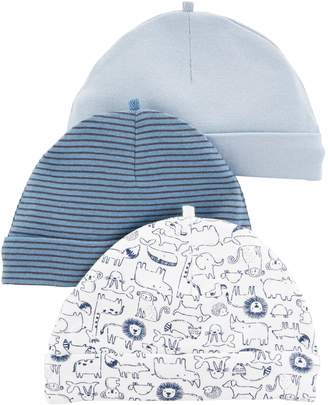 Carter's Baby Boy 3 Pack Knit Hats