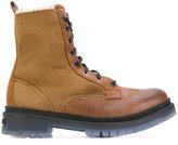 Jimmy Choo Milo boots - men - Leather/Wool/rubber - 39