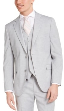 Alfani Men's Slim-Fit Stretch Solid Suit Jacket, Created for Macy's