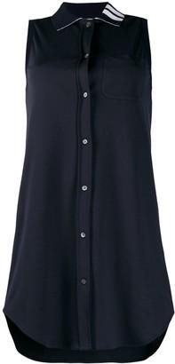 Thom Browne 4-Bar stripe shirt dress