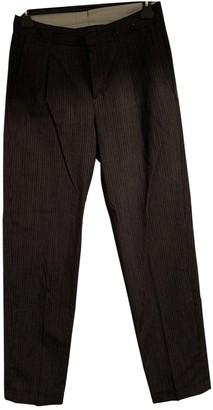 Margaret Howell Black Wool Trousers