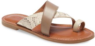 Caslon Oskar Flat Slide Sandal
