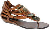 Warrier Bronze Leather
