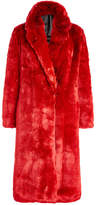 Calvin Klein Faux Fur Coat