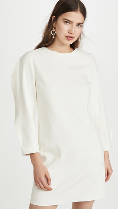 Tibi Origami Sleeve Shift Dress