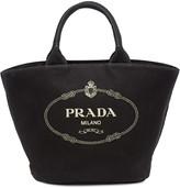 Prada vintage logo shopper bag