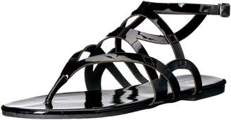 Qupid Women's Archer-388 Gladiator Sandal
