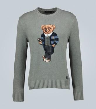 Polo Ralph Lauren Bear long-sleeved sweater
