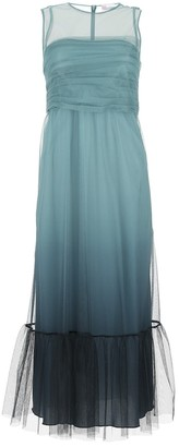 RED Valentino Tulle Gradient Maxi Dress