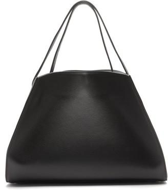Tsatsas Annex Leather Tote Bag - Black