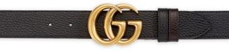 Gucci Interlocking GG Reversible Leather Belt