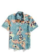 Volcom Boy's Cubano Floral Print Woven Shirt