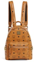 MCM Mini Studded Stark Backpack