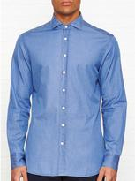 Hackett Plain Twill Long Sleeve Shirt