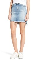 Joe's Jeans Women's Collector's - High/low Denim Pencil Skirt