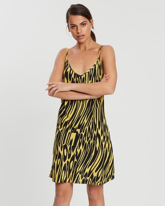 Double Rainbouu Party Animal Slip Dress