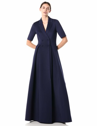 Badgley Mischka Women's Scuba Coat Dress