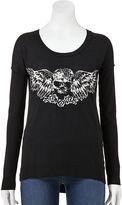Rock & Republic embellished skull sweater - women's