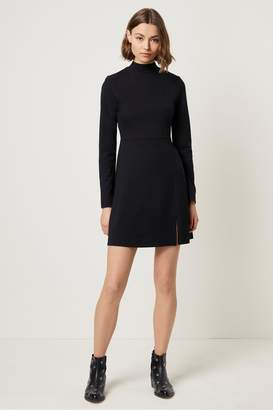 French Connection Saphira Beau Jersey High Neck Dress