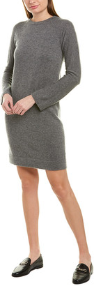Vince Raglan Wool & Cashmere-Blend Sweaterdress