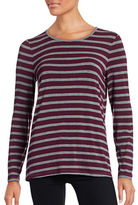 G.H. Bass & Co. Striped Knit Top
