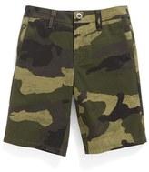 Volcom Boy's Camo Hybrid Shorts