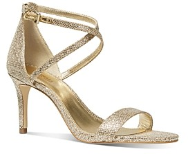 MICHAEL Michael Kors Women's Ava Strappy High-Heel Sandals
