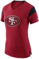 Nike Women's San Francisco 49ers Fan V-Top T-Shirt