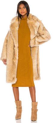 IRO Gallega Faux Fur Coat