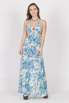 Raga Blue Rose Cutout Maxi