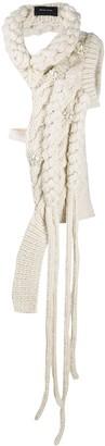 Simone Rocha Tie-Waist Knitted Top