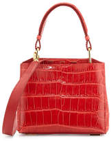 VBH Seven 20Cocco Crocodile Bag, Red