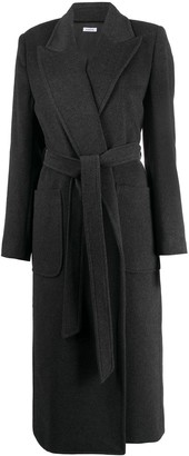 P.A.R.O.S.H. Belted Cashmere Midi Coat