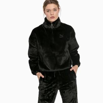 Puma Winter Classics Women's Fleece Half Zip Sweatshirt