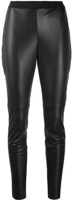 HUGO BOSS Textured Elasticated Waist Leggings