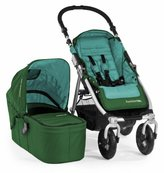 Bumbleride Indie 4 Urban All Terrain Stroller with Bassinet, Green Papyrus by