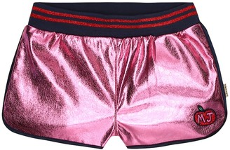Little Marc Jacobs Metallic shorts
