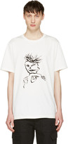 Yang Li White William Burroughs T-shirt