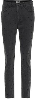 Ulla Johnson Prince polka-dot skinny jeans
