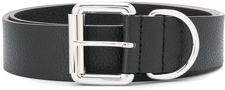 Barbara Bui Cracked Effect Belt