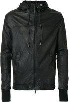 Giorgio Brato hooded bomber jacket
