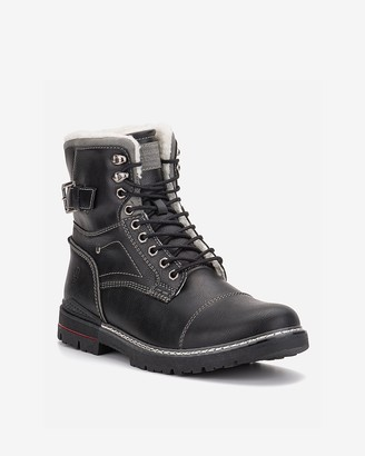 Express Reserved Footwear New York Cavalier Lace-Up Boots