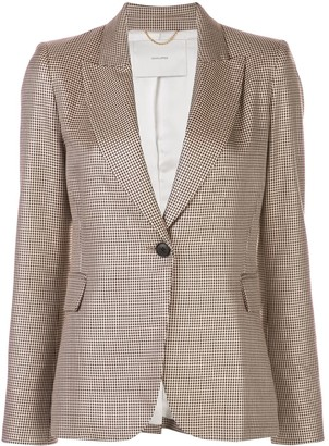 Adam Lippes Fitted Single-Breasted Blazer