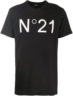 No.21 logo-print short-sleeve T-shirt