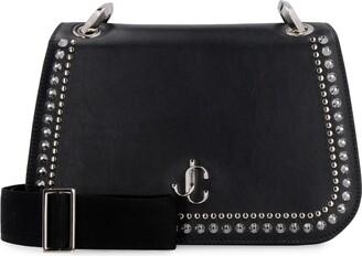 Jimmy Choo Varenne Studded Leather Shoulder Bag